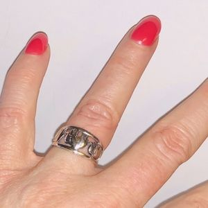 Jewelry - Vintage Sterling Silver Elephant Ring, Size 7